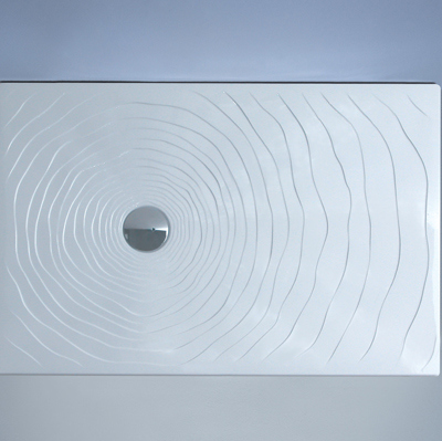 Piatto Doccia 120x80 In Ceramica.Flaminia Water Drop Piatto Doccia 120x80 H5 5 In Ceramica Bianco Lucido