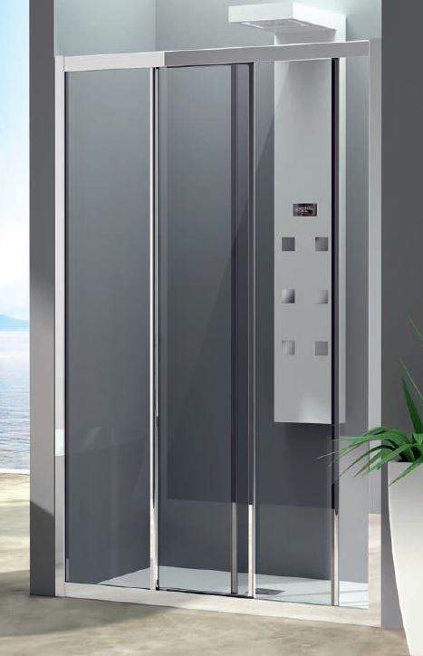 Box Doccia Tre Ante.Sliding Shower Door Box 3 Doors Amelia F2s 140