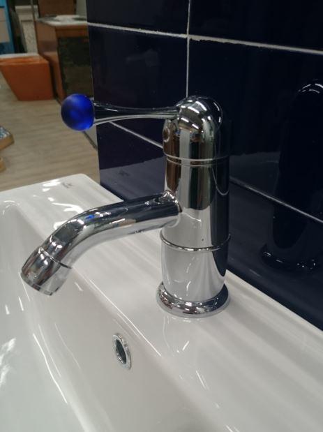 Bandini Robinetterie : Miscelatore lavabo not bandini cromo blu