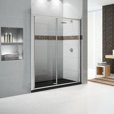 Box doccia porta scorrevole star 2p 120 - Siliconare box doccia interno o esterno ...