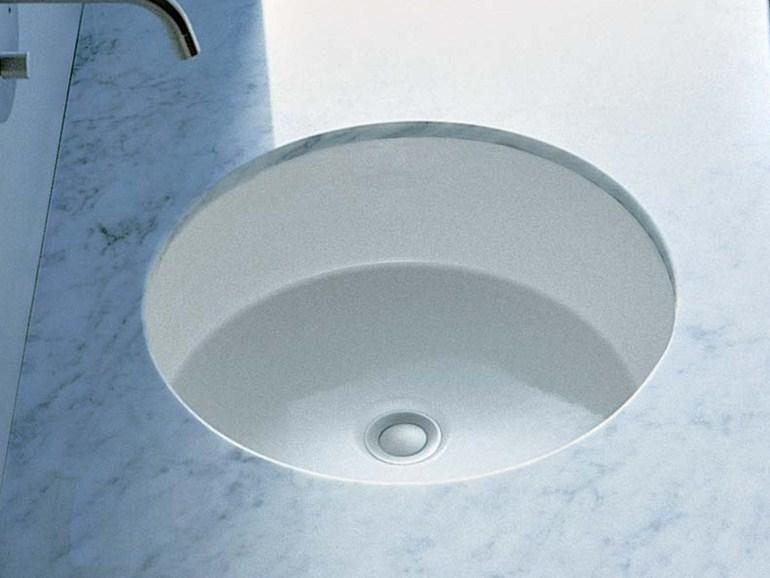 Vasca Da Bagno Incasso Sottopiano : Lavabo sottopiano twin set 43 diametro 42