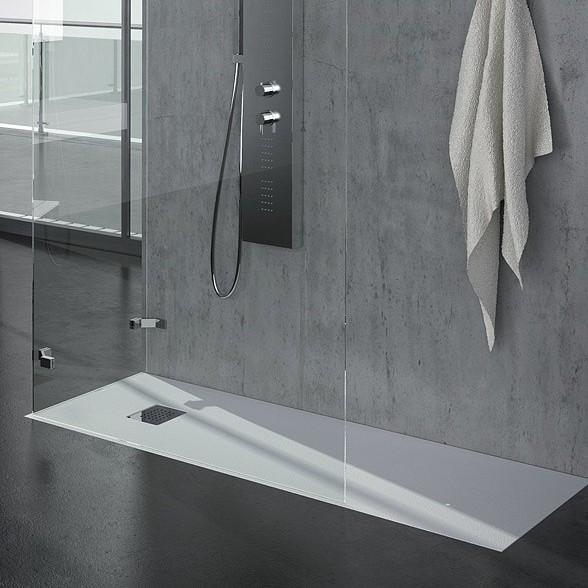 Piatto doccia ardesia matt grandform 120x70 in 5 colori - Piatto doccia per esterno ...