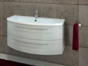 Mobili Bagno Freestanding : Mobile bagno curvo sospeso l cm