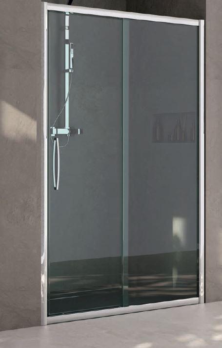 Box doccia erica fs porta scorrevole 165 - Dettaglio porta scorrevole ...