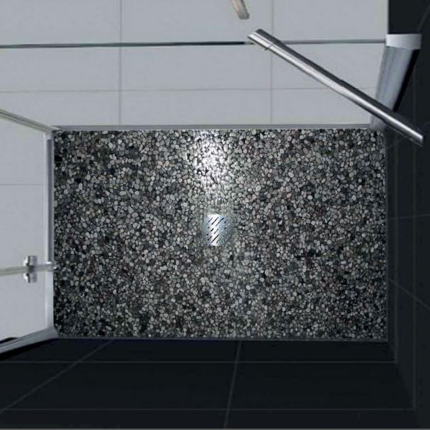 Piatto doccia in floor 80x90 grigio bardiglio - Piatto doccia per esterno ...