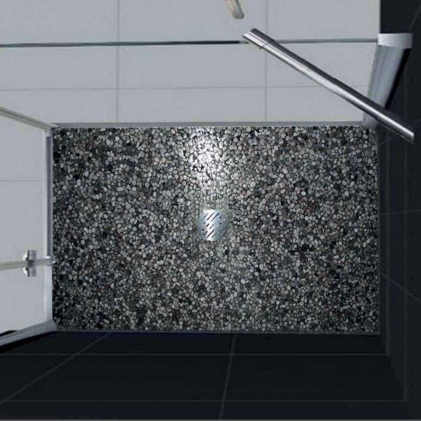 Piatto doccia in floor 70x160 grigio bardiglio - Piatto doccia per esterno ...