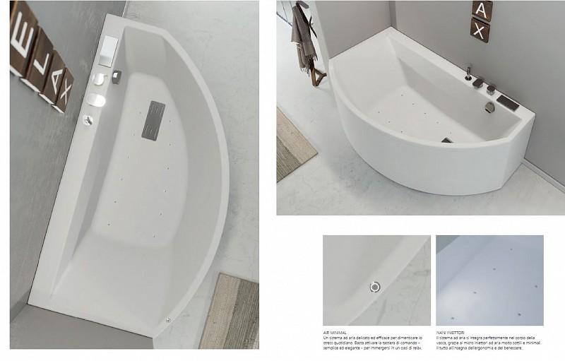Vasca Da Bagno Grandform : Vasca slim edge asimmetrica air minimal