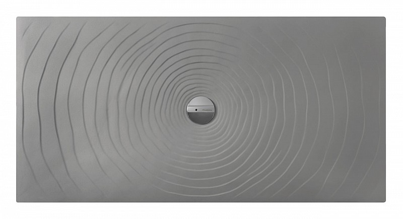 Piatti Doccia Ceramica Flaminia.Flaminia Water Drop Piatto Doccia 100x80 H5 5 In Ceramica