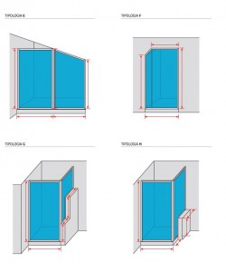 Altezza Standard Cabina Doccia.Box Doccia Su Misura Ais
